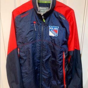 NY Rangers Reebook wind / waterproof jacket